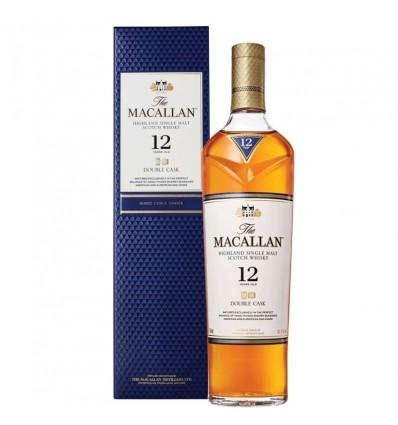 WHISKY MACALLAN DOBLE CASK 12 A EST 700CC x 1 un.