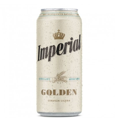 CERVEZA IMPERIAL GOLDEN LATA 473 CC x 6 un.